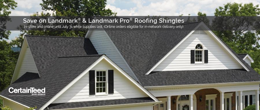 CertainTeed Roofing Shingle Sale