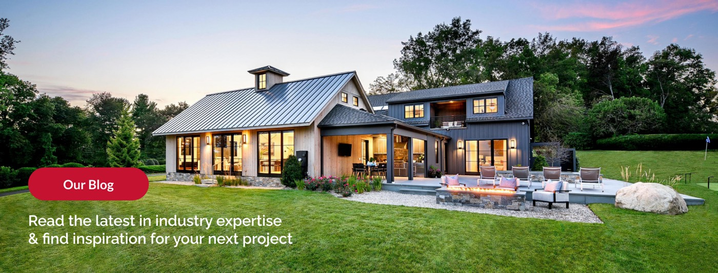 Our Blog: The latest industry expertise and inspiration for your next project